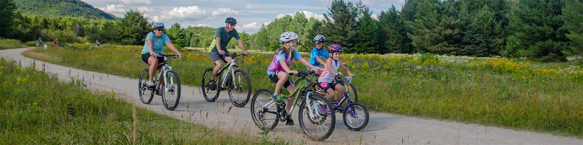 Преимущества активного отдыха на велосипедах