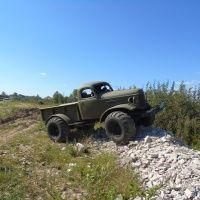 Трофи на внедорожнике ЗИЛ-157 «Труман»