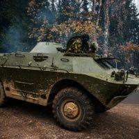 Катание на танке (БРДМ)