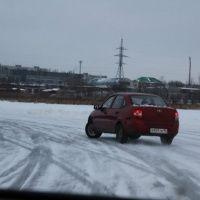 """Зимний автодром """"Культ льда"""""""