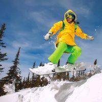 """Сноубординг в Парк-отеле """"Белый Соболь"""""""
