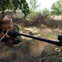 Стрельба из пневматики. Центр военно-спортивной и конной подготовки Щит