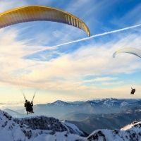 Полёты на параплане в горах Красной Поляны