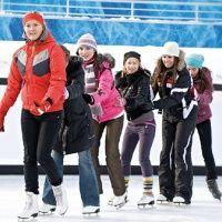 Ледовый каток в Фанпарке Бобровый лог