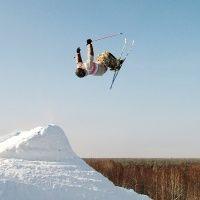 """Горные лыжи на курорте """"Красное озеро"""""""