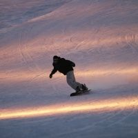 """Сноубординг на курорте """"Красное озеро"""""""