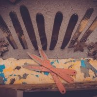 Метание ножей. Клуб Золотая пуля
