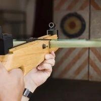Стрельба из арбалета. Тир Air-Gun