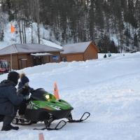 Катание на снегоходах «Пухтолова гора»