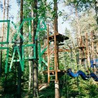 """Веревочный парк курорта """"Охота Парк"""""""