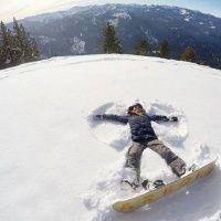Катание на сноуборде в «Лата Трэк»