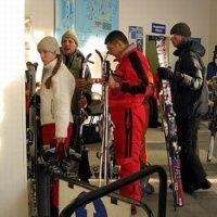 """Лыжи в Спортивном Парке """"Волен"""""""