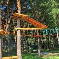 Веревочный парк в СК «Локо-мотив»