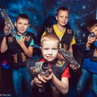 Детские квесты в лазертаге