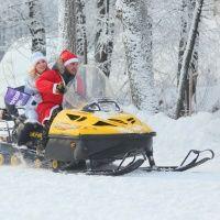 Катание на снегоходах Автоимперия