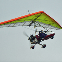 Полет на дельталете Аэроклуб Авиадух