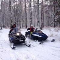 """Прокат снегоходов от клуба """"Дикий Север"""""""