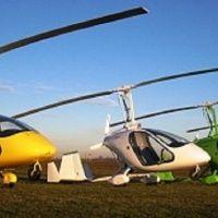 Полет на Gyrocoptere HeliSkiClub