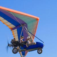 """Полеты на мотодельтаплане """"Piter Polet"""""""
