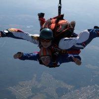 """Прыжки с парашютом. Физкультурно-оздоровительный комплекс """"Ориентир"""""""