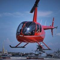 Полет на вертолете от аэроклуба Авиадух