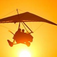 Полет на дельтаплане от аэроклуба Авиадух