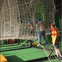 Веревочный парк в ТРЦ Арена