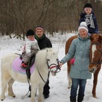 Конные прогулки в Москве