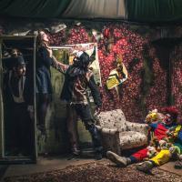 Хоррор-перформанс с актёрами Не тот Цирк